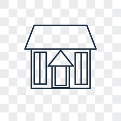 home icon isolated on transparent background. Modern and editable home icon. Simple icons vector illustration.