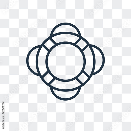 634d28a578a9 lifeguard icon isolated on transparent background. Modern and editable lifeguard  icon. Simple icons vector illustration.