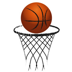 Logo basketball sport