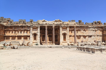 Baalbek Roman Ruins in Lebanon