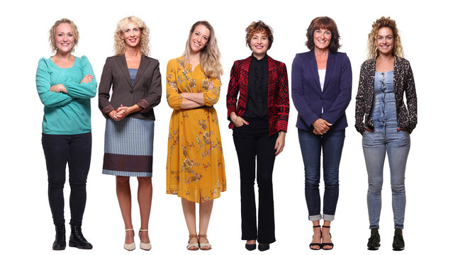 Beautiful group of women