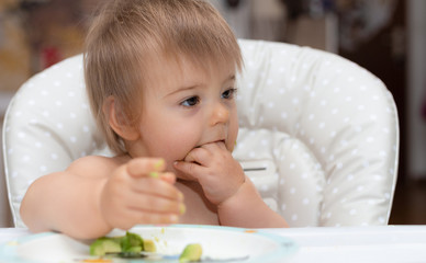 Baby, Eating, Human Face, Caucasian Ethnicity 12