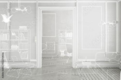 """Apartment Einrichtung projekt einer apartment-einrichtung (konzeption)"""" stock photo and"""