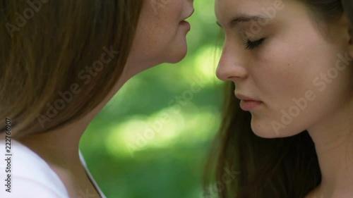 Doux adolescent lesbienne sexe