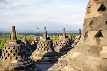 Stupa at Borobudur Temple, Yogyakarta, Indonesia 1