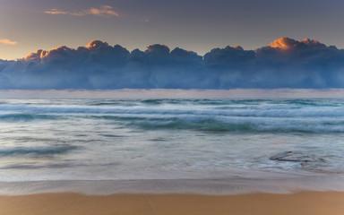 Under the Cloudbank Sunrise Seascape