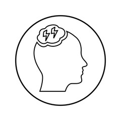 Brainstorming Outline Icon