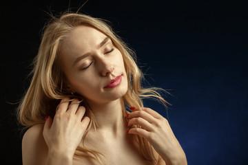 blond hair transgender