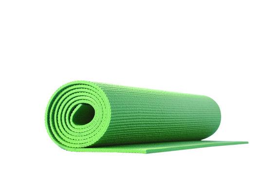 yoga mat isolated