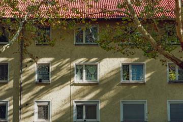 altes Reihehaus Siedlung