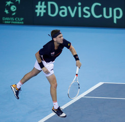 Davis Cup - World Group Play Off - Great Britain v Uzbekistan