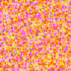 Seamless triangle pattern. Abstract geometric wallpaper of the surface. Checkered background. Bright colors. Print for polygraphy, posters, t-shirts and textiles. Bright texture. Doodle for design