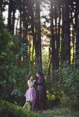 A fantastic love story. The girl is a Mystical fairy creature fawn and the guy is a dark elf . Dark fantasy.