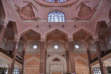 Pink Mosque in Putrajaya