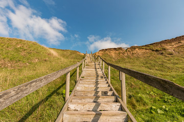 Steilküste, Treppe, Dänemark