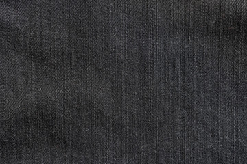 close up black jeans denim texture and background