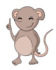 funny rat draw
