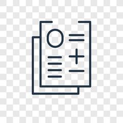 Exam vector icon isolated on transparent background, Exam logo design