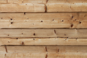 wooden yellow background of natural pine, horizontal aged