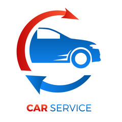 Wall Mural - Autovermietung - car service