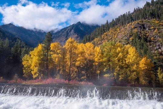 Cascade Mountains in Autumn