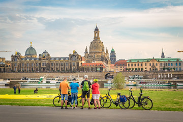 Cityscape of Dresden (Germany)
