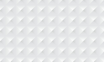 Abstract white background texture with diamont square pattern