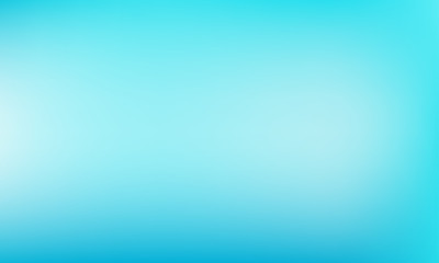 Light blue background. Abstract vector pastel greenish-blue turquoise color backdrop