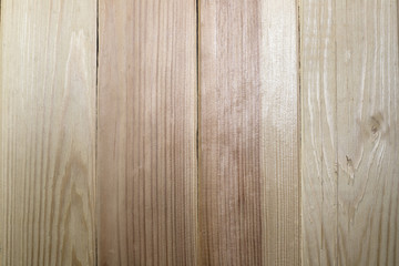 Smooth surface, natural, wood fir and pine Board. Surface finish. Floor, wall and ceiling.