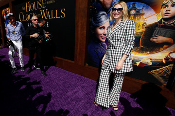 """Actor Cate Blanchett poses at the premiere for """"The House With a Clock in its Walls"""" in Los Angeles"""