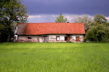 Stary opuszczony dom