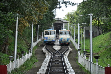 A small funicular. Which remains an integral part of the city