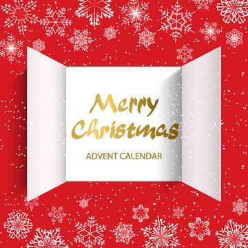 Advent Calendar Doors opening