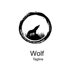 logo of the wolf