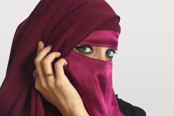 Islamic Woman Wearing Veil