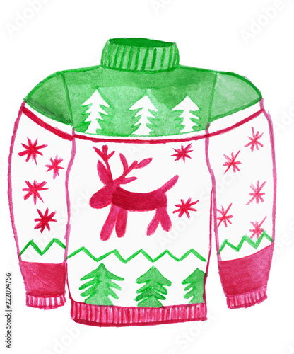 b4f551bda Ugly Christmas sweater
