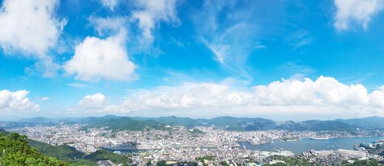 Fotomurales - 都市風景 長崎市 稲佐山からの眺望