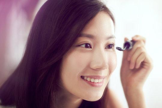 Young beauty makeup