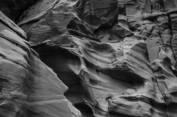 Canyon Wall Motion Waves