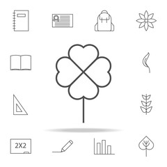 clover icon. web icons universal set for web and mobile