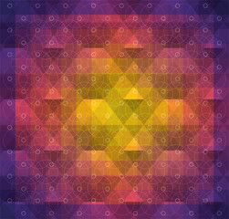 colorful abstract spectrum pattern