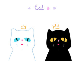 lovely cats for books cover