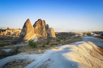 Rock formations near Göreme, Turkey
