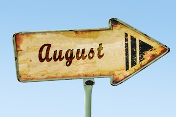 Schild 328 - August