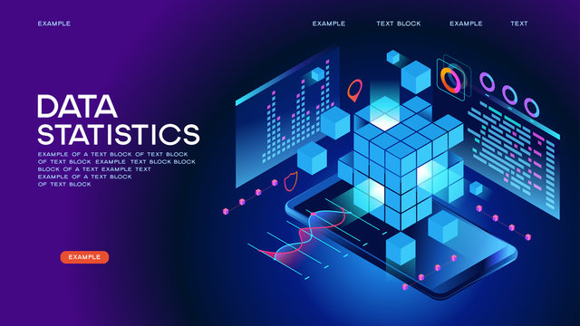 Data statistics Web Banner