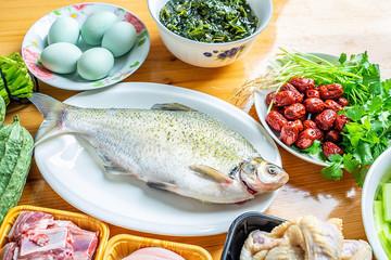 a fresh Wuchang fish