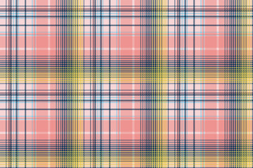 Light color check plaid pixel seamless pattern