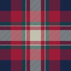 Tartan background fabric texture seamless pattern