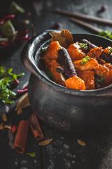 Massaman Curry, Curry Thaï au poulet