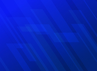 Abstract lines pattern technology on blue gradients background.